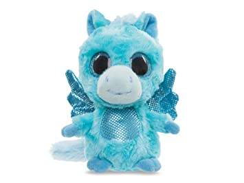YooHoo & Friends - Pegasus, peluche con ojos brillantes, 13 cm (Aurora World
