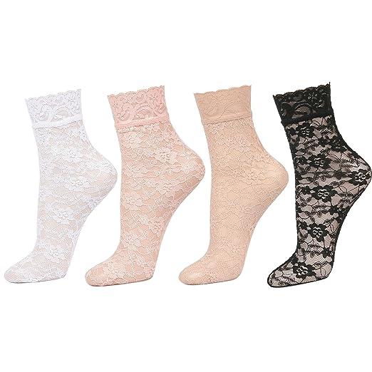 9f68f275ac Women's Sexy Lace Ankle Socks
