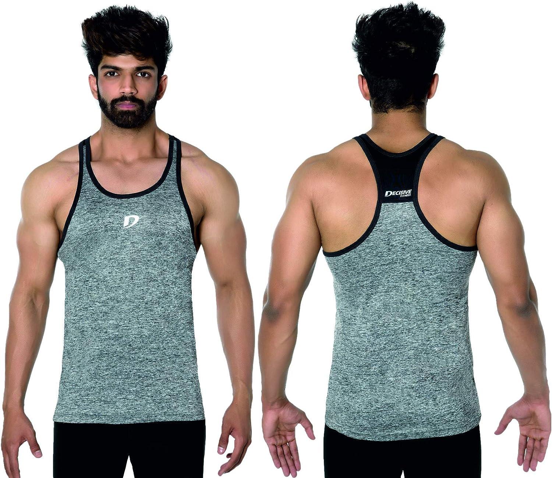 Decisive Fitness D/ébardeur de Musculation pour Homme