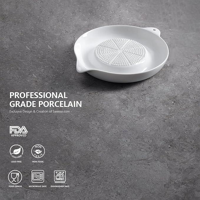 Amazon.com: Sweese - Rallador de porcelana para jengibre ...