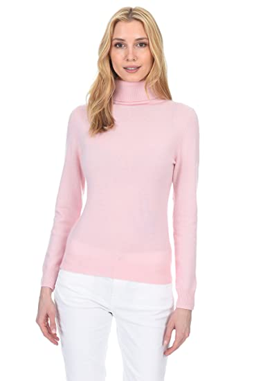 cdcade2cb94 State Fusio Ribbed Turtleneck Sweater Cashmere Wool Long Sleeve High Neck  Pullover for Women