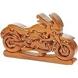 Rompecabezas 3D De Madera clasico MotorBici: diversión para la mente: Madera Artesanal: Top regalo Navidad Idea de Regalo! Gran Regalo de Navidad para Bici Hombres, WoHombres Bicirs y entusiastas de la Bici!