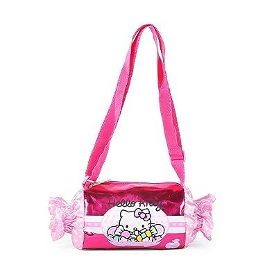 Amazon.com: Sanrio hello kitty rosa Candy bolso de mano para ...