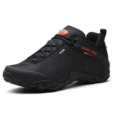 En plein air Loisirs Chaussures de sport pour nouveaux hommes Chaussures de randonnée en cours qUaIoHL