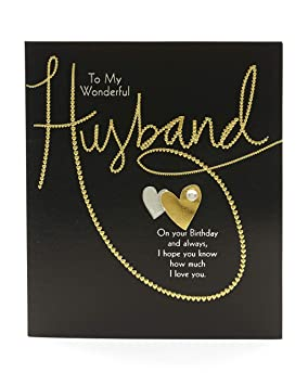 Husband Birthday Card