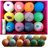 Amazon Price History for:12 Vegan Bath Bomb Gift Set, w/Free Lip Balm, Organic Coconut Oil & Aromatherapy Essential Oils, Cruelty Free, Handmade in the USA with - from Enhance Me