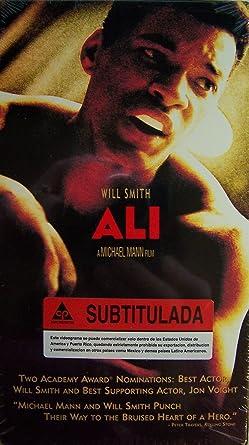 Amazon.com: Ali [VHS]: Will Smith, Jamie Foxx, Jon Voight ...