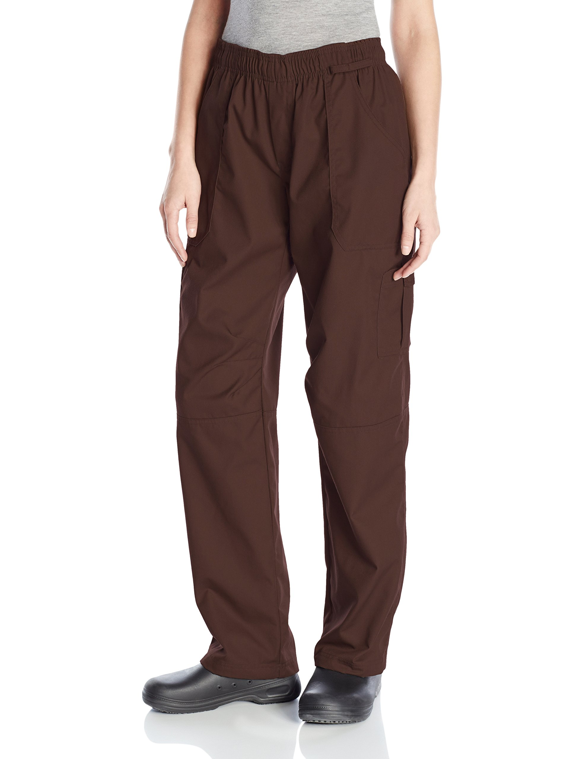 Uncommon Threads Unisex Grunge Cargo Chef Pant, Brown, X-Small by Uncommon Threads
