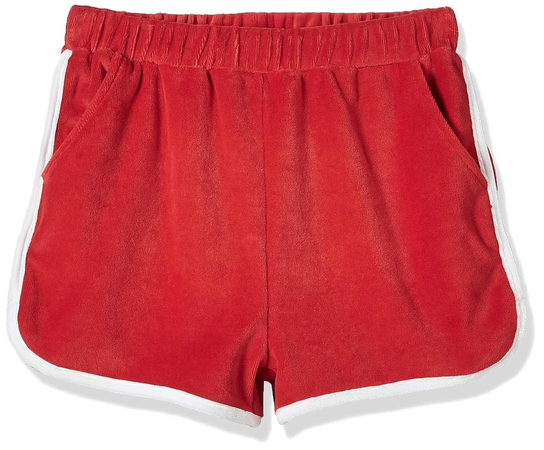 Kid Nation Girls Elastic Sport Retro Shorts