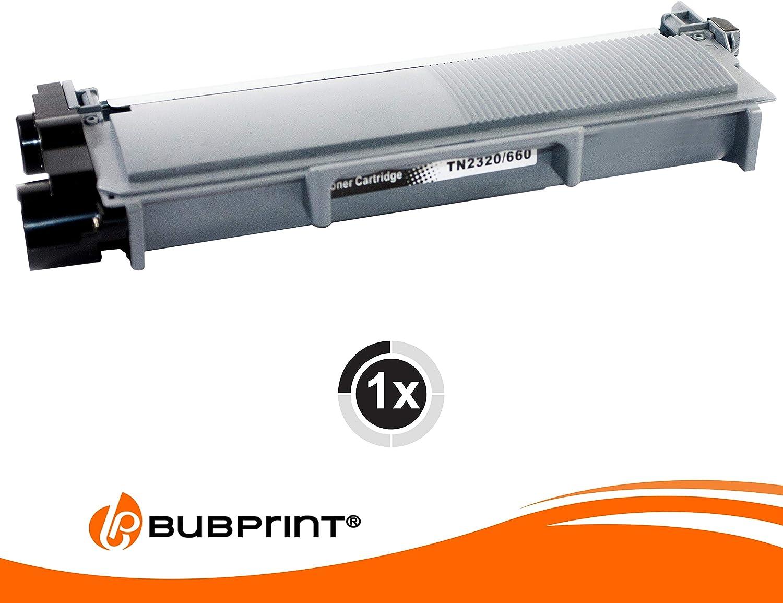 Bubprint Tóner XL 5.200 Páginas Compatible con Brother TN-2320 TN ...
