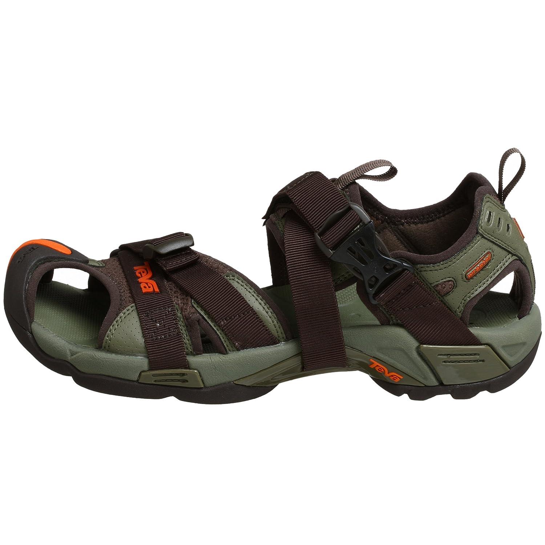 fcc029b58 Teva Mens Karnali Wraptor in Burnt Olive - Size 12 UK  Amazon.co.uk  Shoes    Bags
