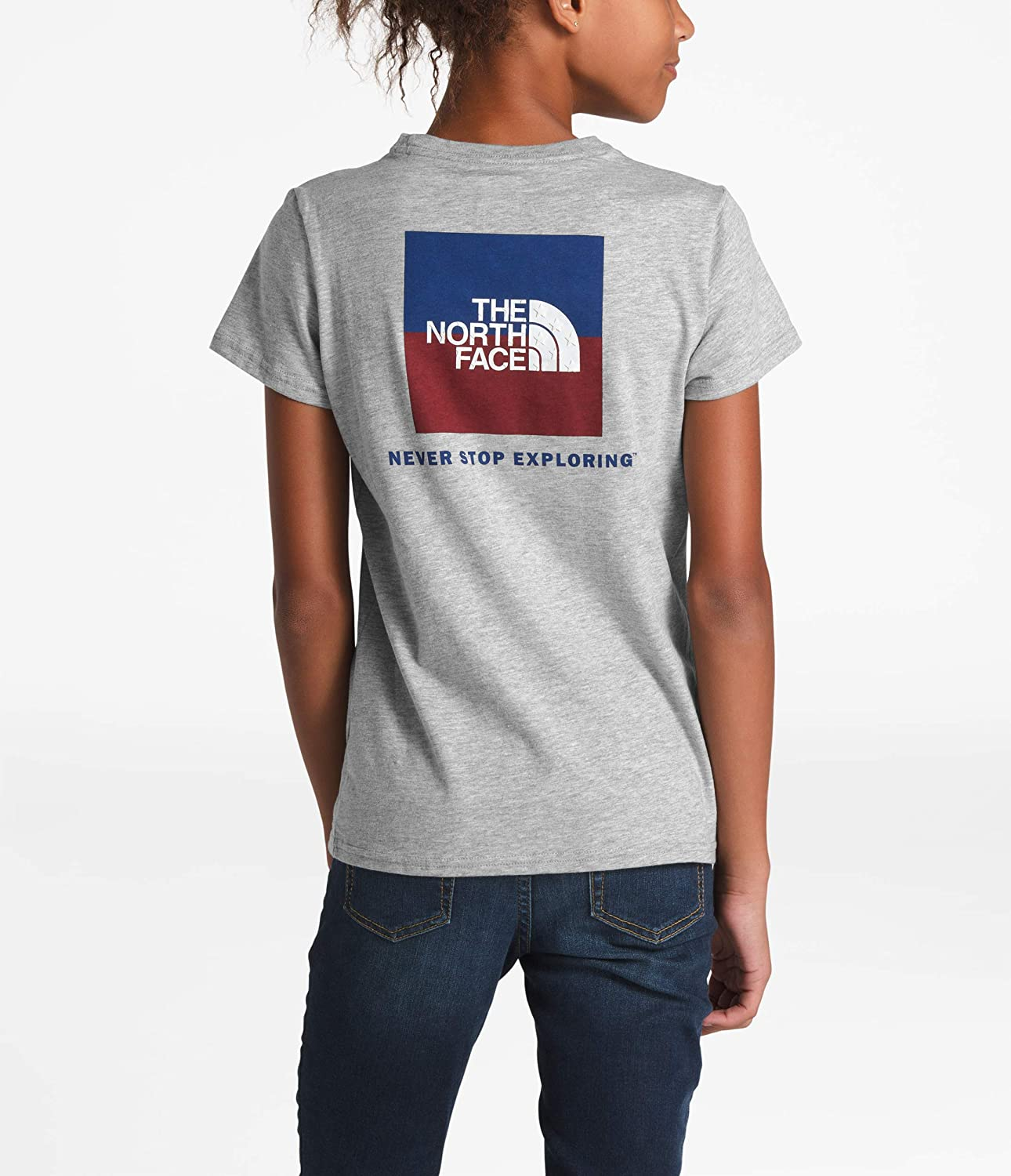 The North Face Girls Short Sleeve Graphic Tee