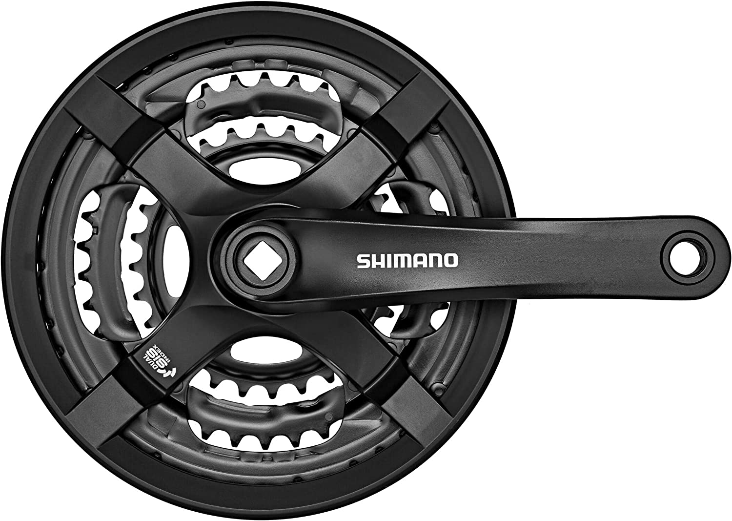 Unisex FC-TY501 Vierkant 6//7//8-fach SHIMANO FC TY501/Square 6//7//8/Speed Chainset