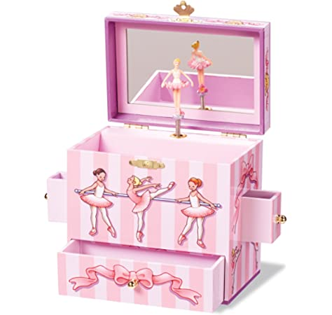 Enchantmints B2702 Royal Garden Princess Music Jewelry Box