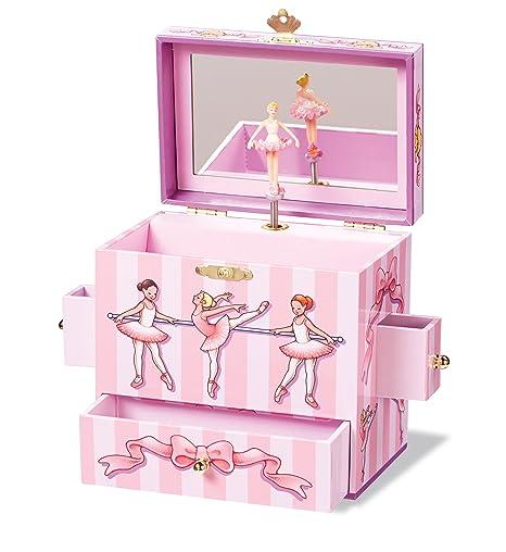 Amazoncom Enchantmints Ballet Class Musical Jewelry Box Toys Games
