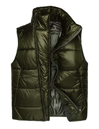 0acd801268d0 COOFANDY Mens Winter Packable Puffer Coat Down Jacket with Removable Sleeves  (Small