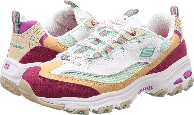 Skechers Dlites Second Chance 13146-wml, Zapatillas para Mujer: Amazon.es: Zapatos y complementos