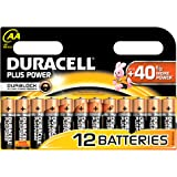 Duracell - Pile Alcaline - Duralock AA x 12 Plus Power (LR6)