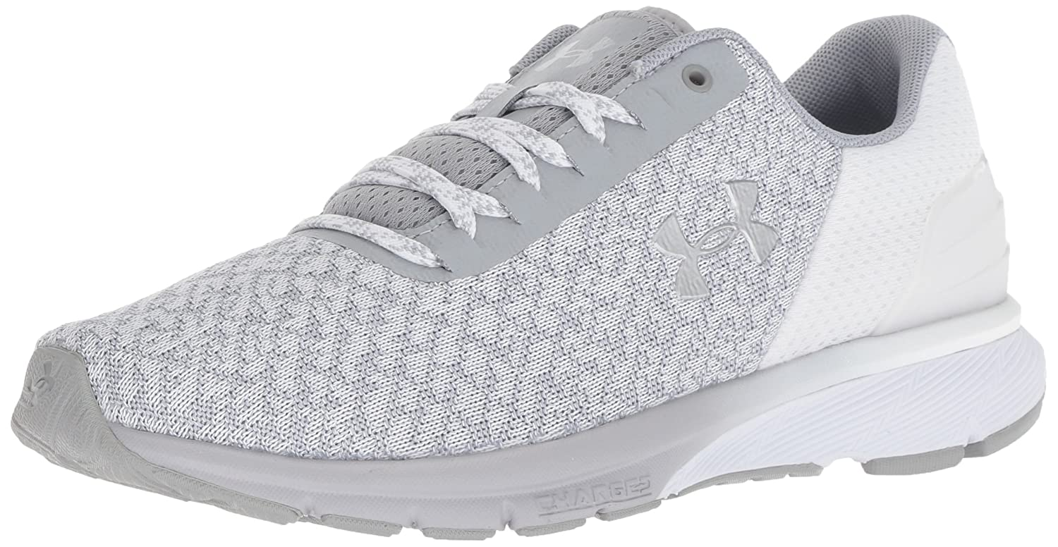 Under Armour Women's Charged Escape 2 Running Shoe B076S9X957 9 M US|White (104)/Overcast Gray