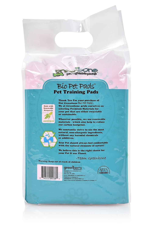 Greenbone 13403 20 Count Bio Pet Training Pads
