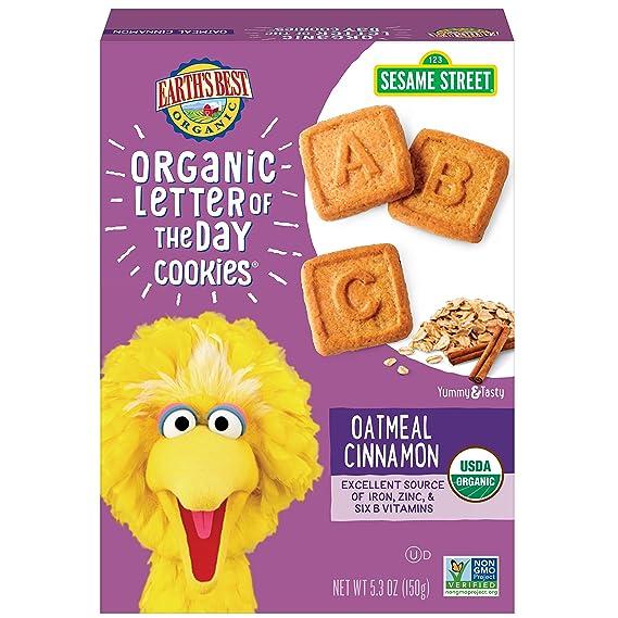 Carta Orgánica de las galletas del día, harina de avena Canela - Los mejores de
