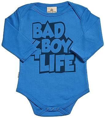 545a457b3 SR - Gift Boxed in Baby Gift Bad Boy 4 Life Organic Baby Clothing Babygrow -