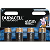 Duracell Ultra Power Piles Alcalines type C, Lot de 4