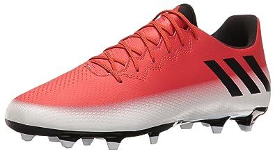 premium selection a517a 8c834 adidas Men s Messi 16.3 FG Soccer Shoe, Red Black White, (7