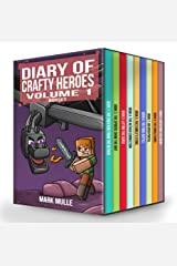Diary of Crafty Heroes Volume 1 (3 Trilogies = 9 books in 1): An Unofficial Minecraft Box Set Books for Kids Age 9-12 Kindle Edition