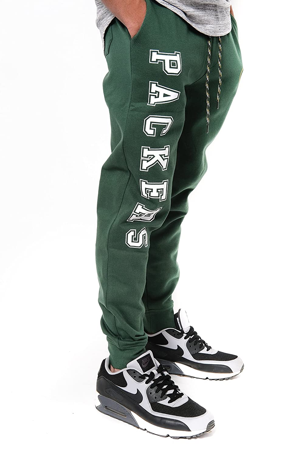 Team Color NFL Green Bay Packers Ultra Game Mens JOGGER Large