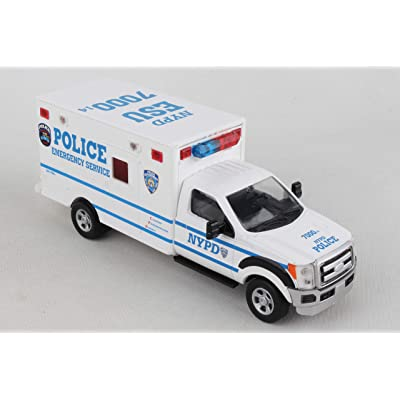 Daron NYPD Emergency Service Unit with Lights & Sounds NY71599: Toys & Games