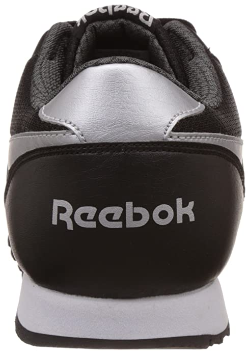 dc368cdbce0ad Reebok Classics Men s Classic Protonium Black and Grey PU Sneakers - 8 UK  India (42 EU) (9 US)  Buy Online at Low Prices in India - Amazon.in