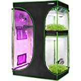 """VIVOSUN 2-in-1 36""""x24""""x53"""" Mylar Reflective Grow Tent for Indoor Hydroponic Growing System"""