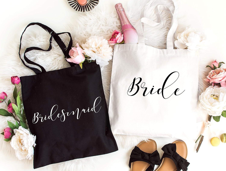 Bridesmaid Gift Bag Bachelorette Party Favors Bridesmaids Totes Bridesmaid Tote Bag Bridesmaid Gift Bridesmaid Gifts Flower Girl Gift