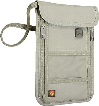 Electronics or Phone Holder GIft Card Holder Makeup Bag Wallet Passport Holder in Navy /& Olive
