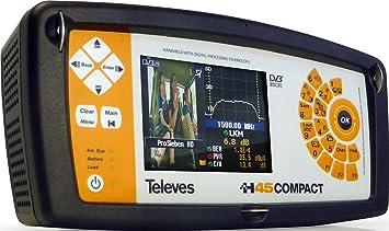 Resultado de imagen de medidor de campo H45 Compact de Televes
