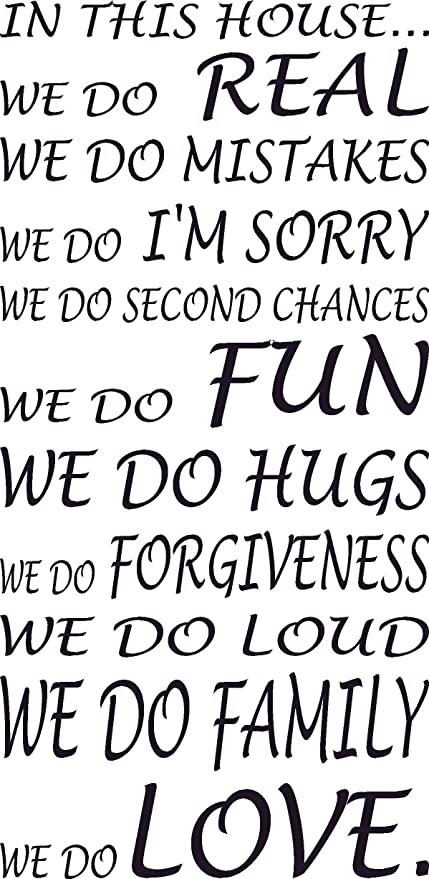 Amazon In This House We Do Love Hugs Loud Fun Family Impressive Love Forgiveness Quotes