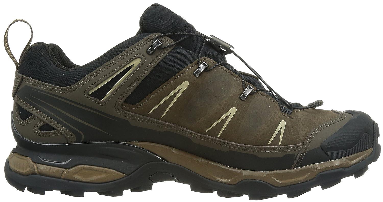 SALOMON Men's X Ultra Leather GTX Low Rise Hiking Shoes