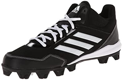 half off bb543 1236f adidas Performance Men s Wheelhouse Mid Baseball Cleat, Core Black Running  White Metallic