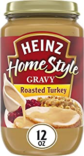 product image for Heinz Homestyle Roasted Turkey Gravy (12 oz Jars, Pack of 12)
