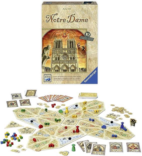 Ravensburger Notre Dame: 10th Anniversary Edition Juego de mesa de estrategia, modelo: 26994 , color/modelo surtido: Amazon.es: Juguetes y juegos