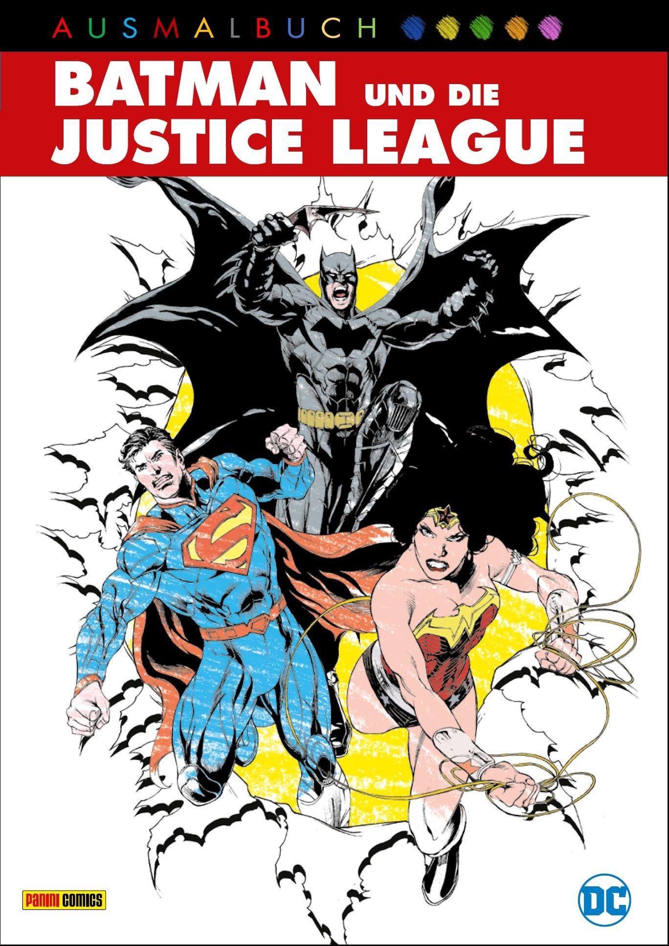 DC Ausmalbuch: Batman und die Justice League: Amazon.de: Panini: Bücher