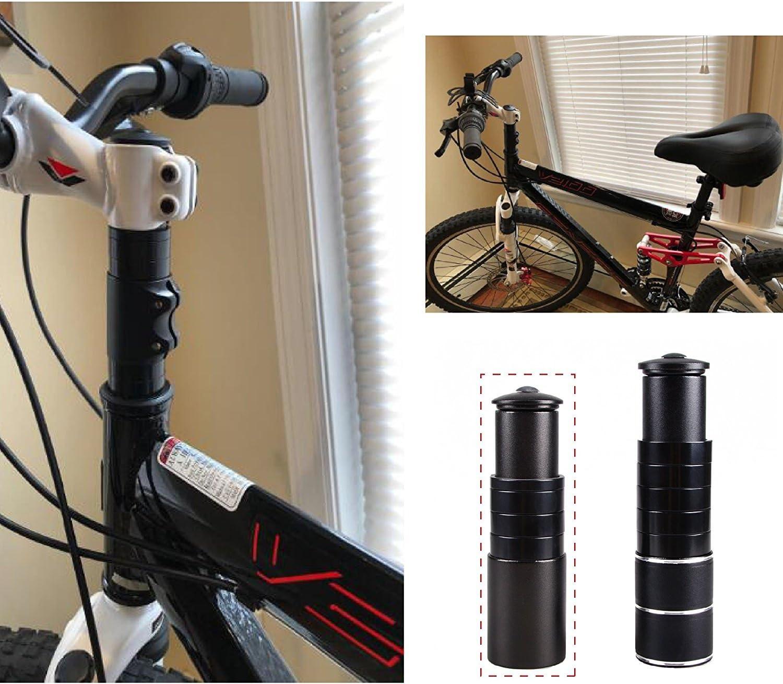 TRIWONDER MTB Elevador de V/ástago de Bicicleta Aleaci/ón de Aluminio Adaptador de Manillar para Ciclismo