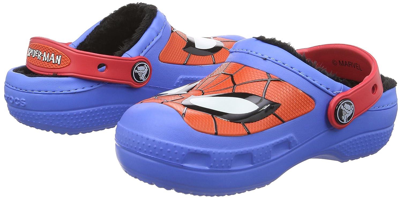 Crocs Boys' CC Spider-Man Lined Clog crocs 16300