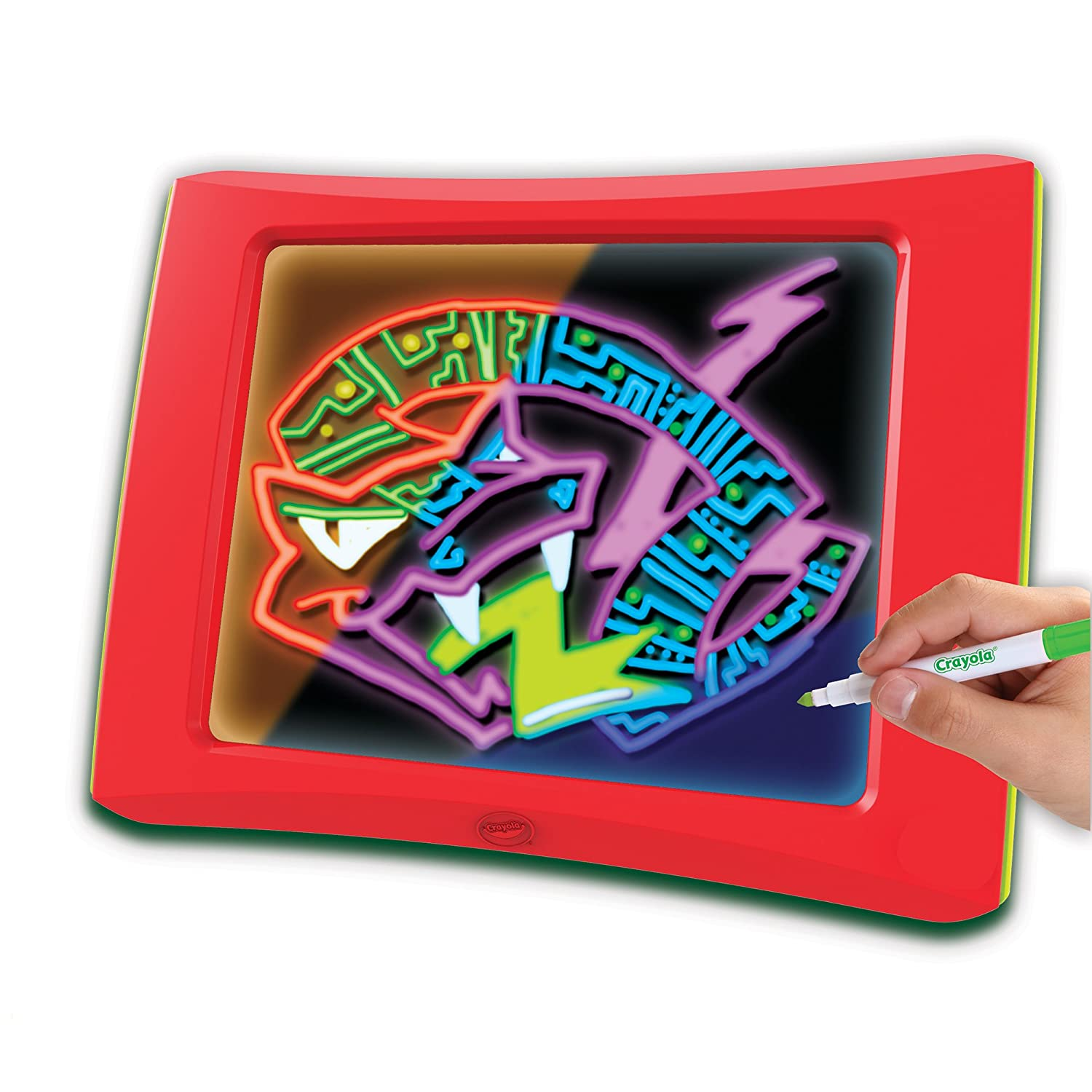 Amazon.com: Crayola Multi Color Light Board Drawing Set ...
