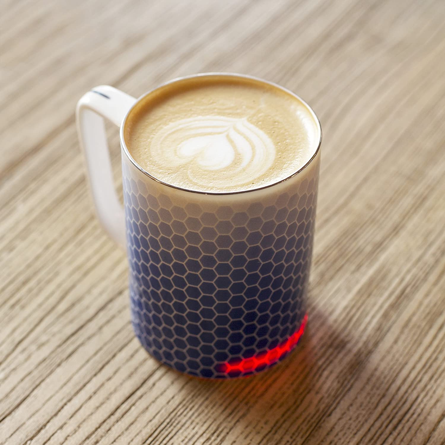 Glowstone self heating smart mug - fine bone china
