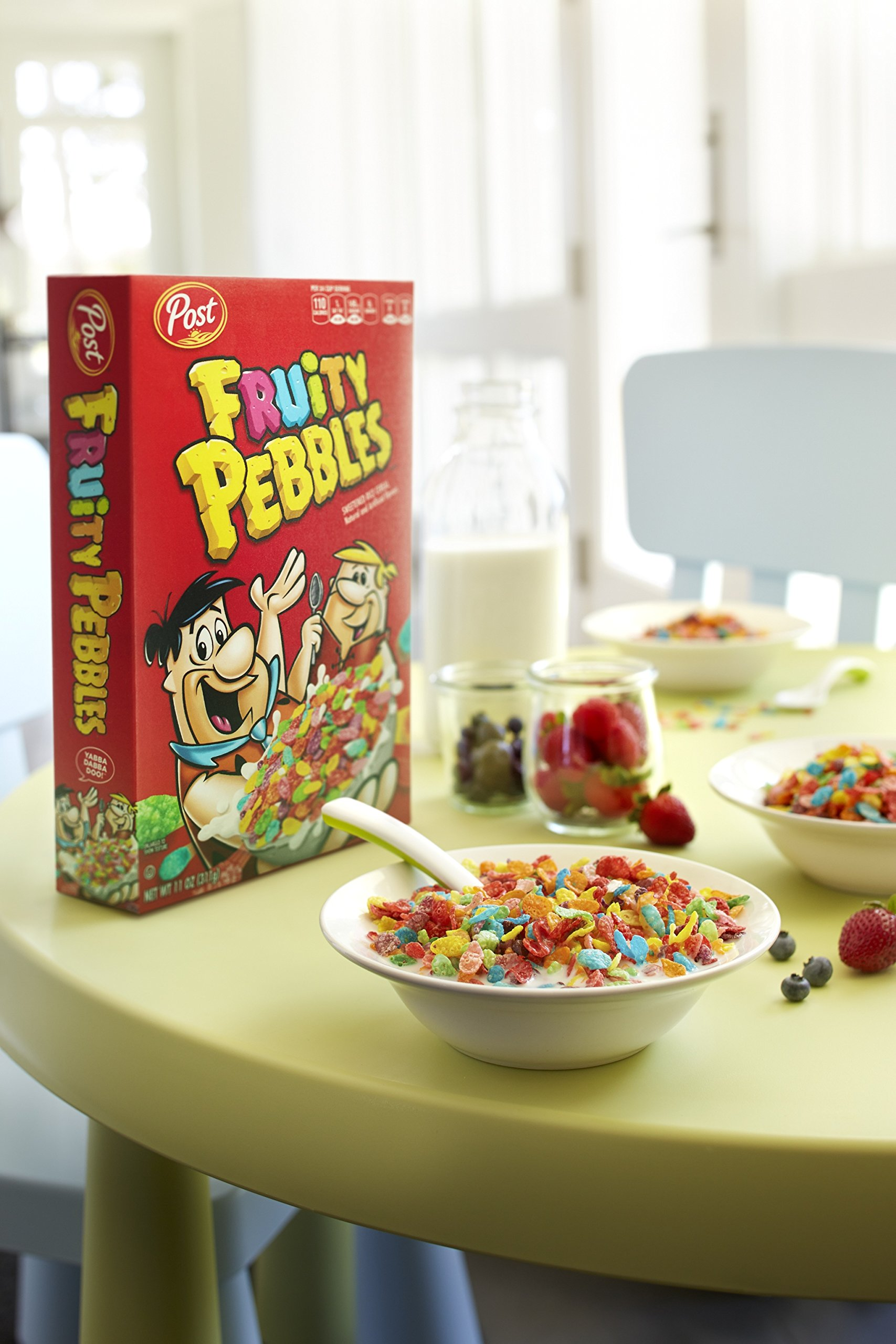 Post Fruity Pebbles GlutPost Fruity Pebbles Gluten Free Cereal, 36 Oz - Pack of 6 by Post