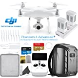 DJI Phantom 4 ADVANCED PLUS (Phantom 4 ADV+ - Remote with Built in Screen) Quadcopter Starters Bundle