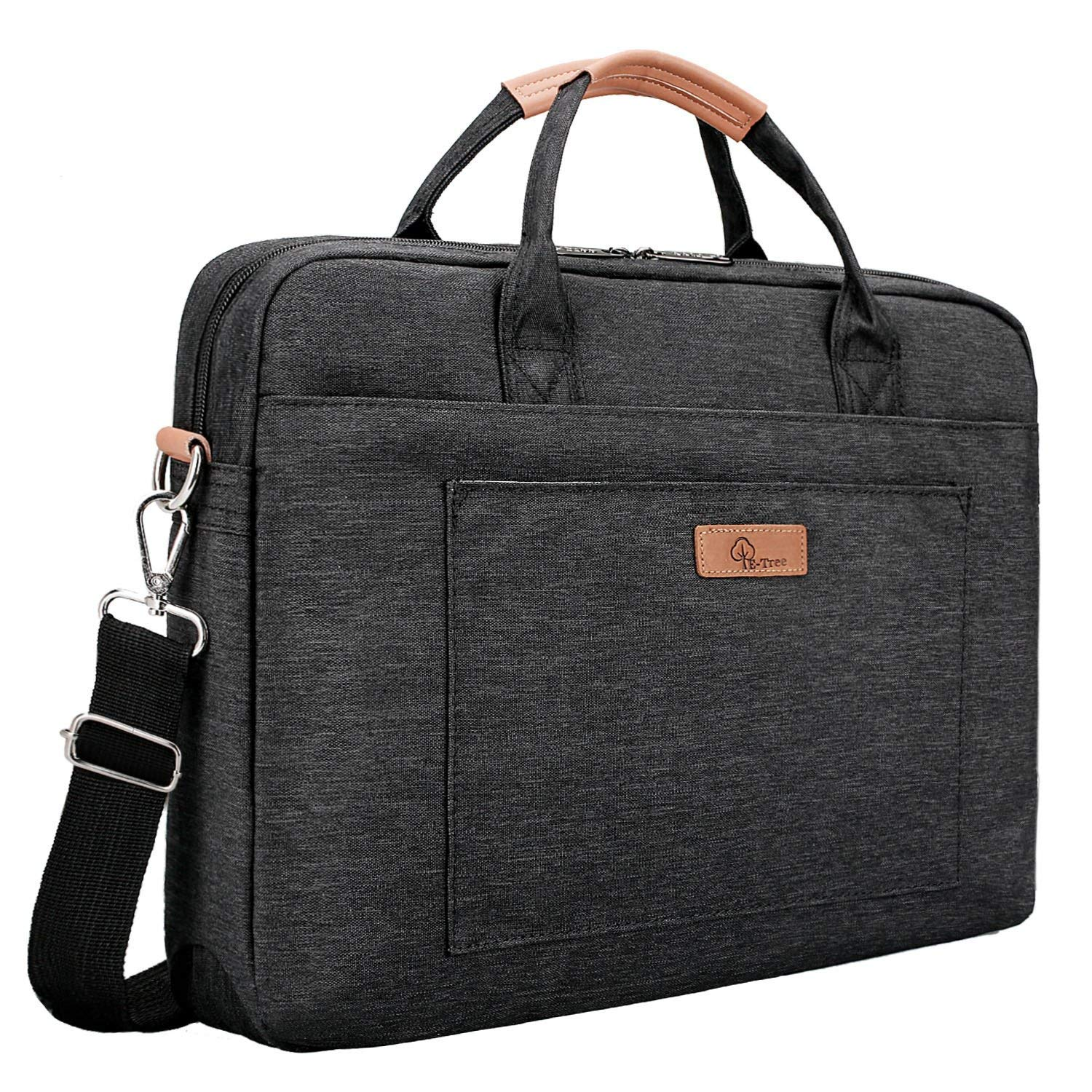 E-Tree 15.6 inch Laptop Sleeve 15 inches Shockproof Foam Computer Shoulder Bag by E-Tree