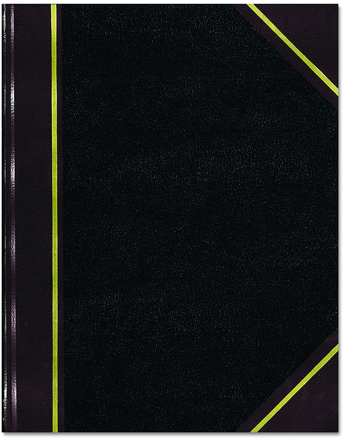 """NATIONAL Texhide Series Record Book, Black, 10.375"""" x 8.375"""", 300 Pages (56231) : Financial Paper : Office Products"""